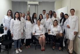 Aula prática | Alunos da especialização de Biomedicina Estética - 4edª vivenciam módulo prático